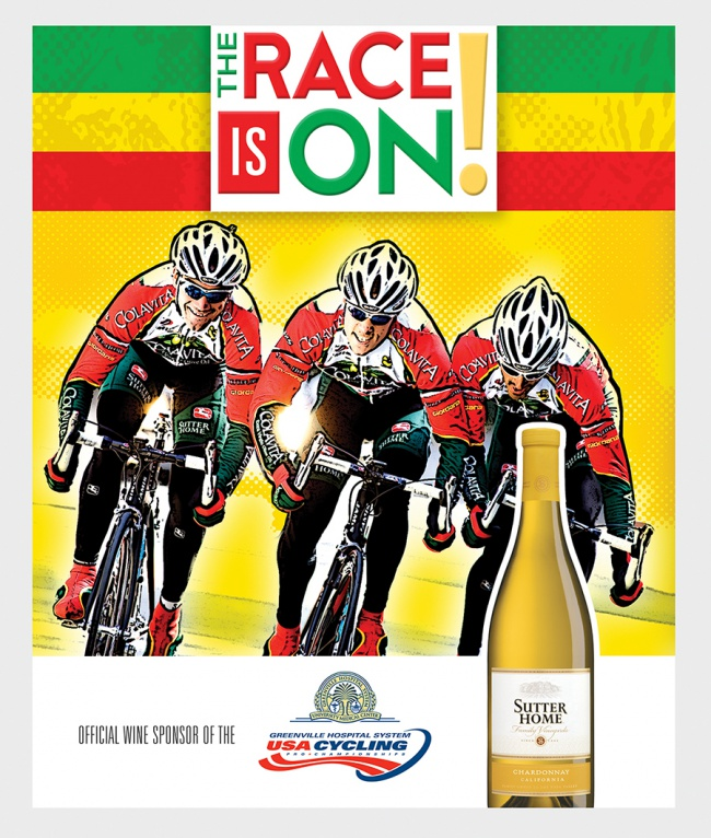 Sutter Home/USA Cycling Event Poster