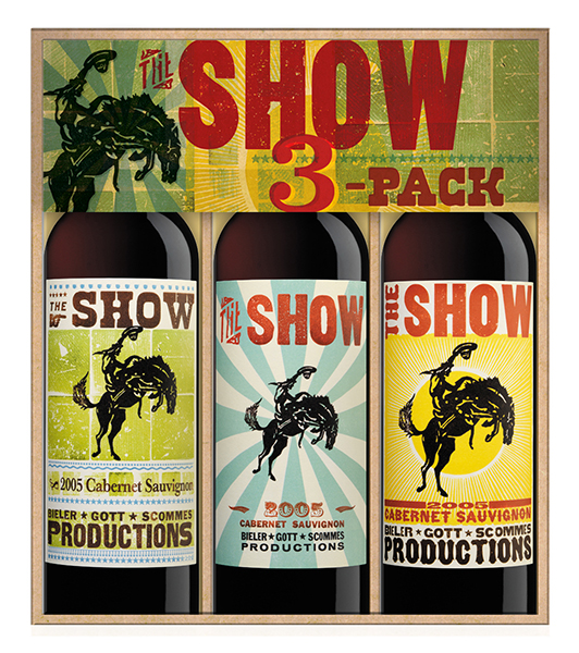The Show Tri-Pack Case