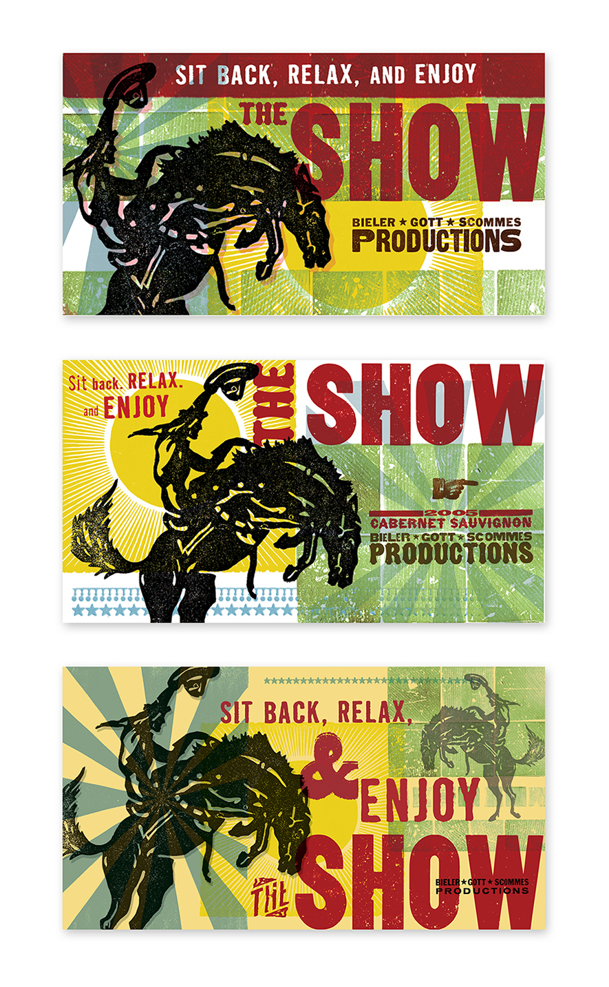 The Show Postcards