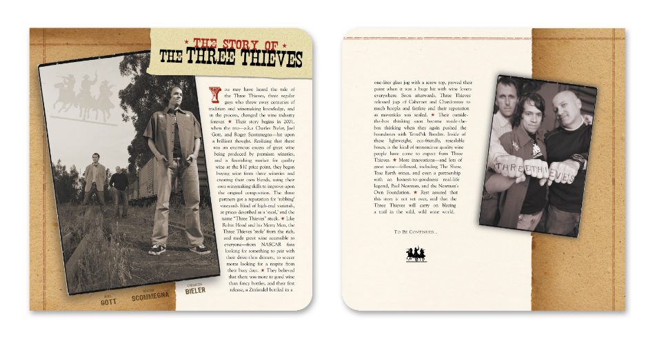Three Thieves Brand Overview Booklet