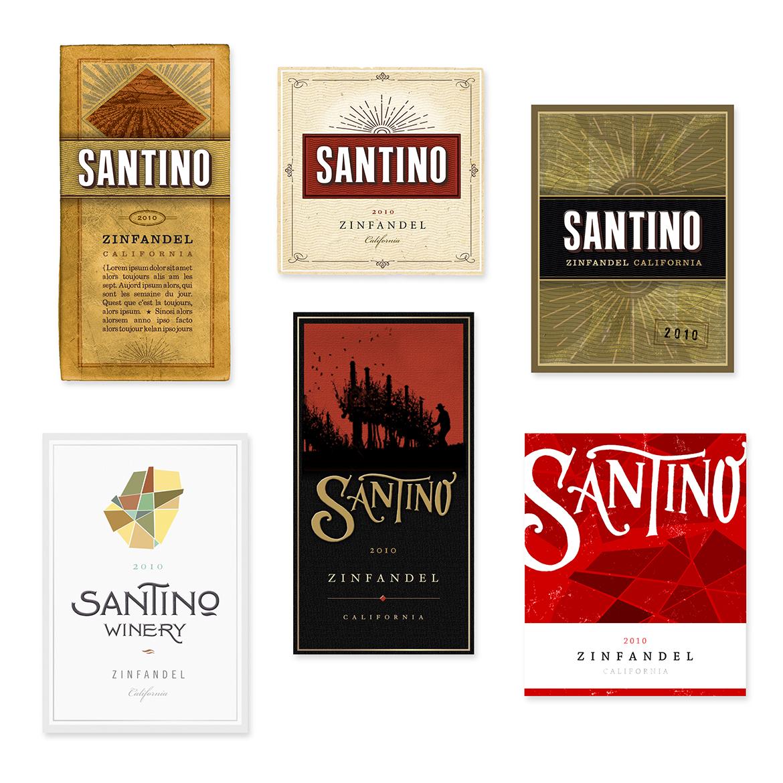 Santino Winery Conceptual Studies