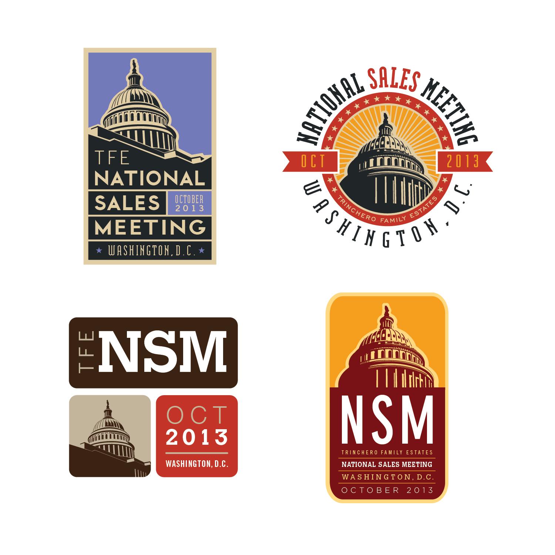 TFE National Sales Meeting Logos